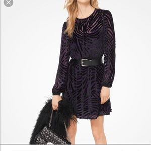 NWT Michael Kors Velvet Dress